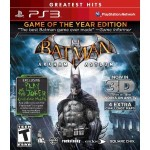 Batman Arkham Asylum Greatest Hits para PS3 mod. USA