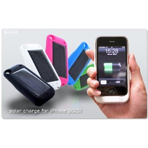 Carregador Solar para iPhone 3G/3GS Eco-friendly