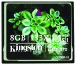 Kingston 8GB Elite Pro 133X